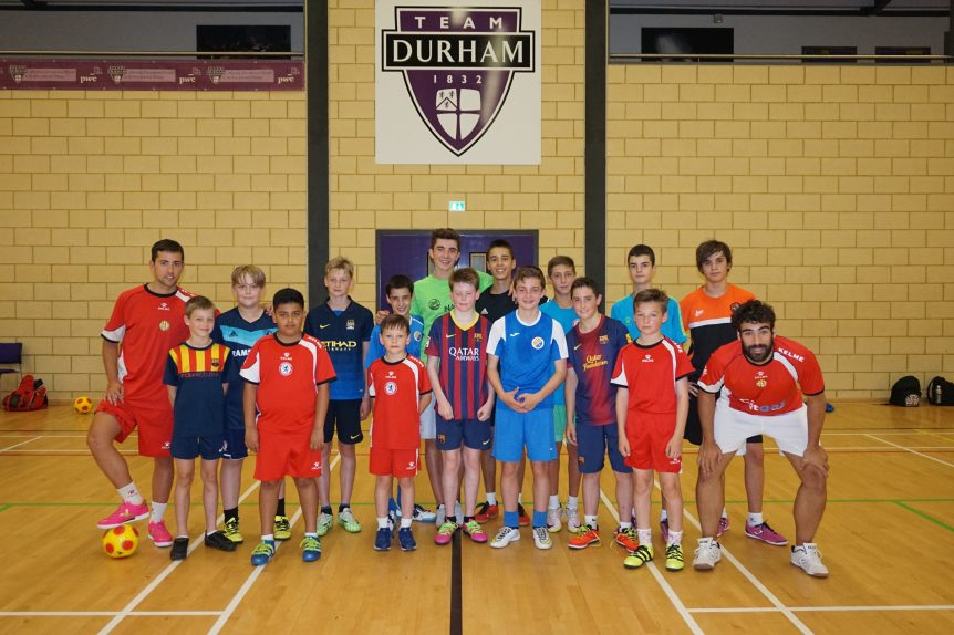 Year 2 of the summer camp in Middlesbrough